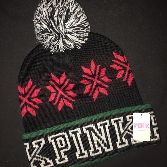 NEW PINK Victoria's Secret PINK Beenie